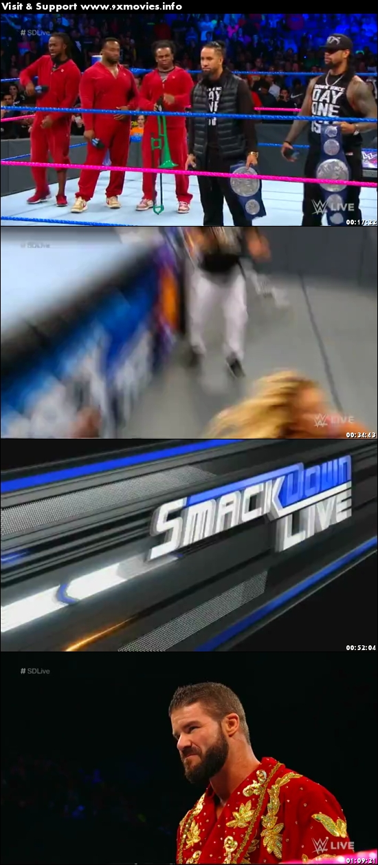 WWE Smackdown Live 10 October 2017 HDTV 480p 300MB