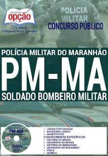 Apostila Concurso Polícia Militar do Maranhão 2016 - Soldado Bombeiro Militar PM-MA
