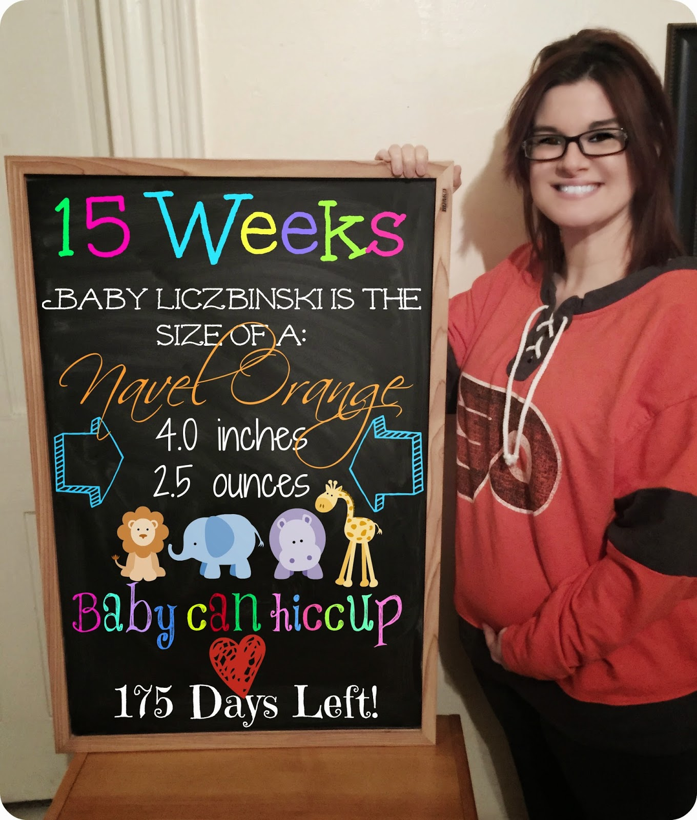 15 weeks today... Good Lord. Only 25 weeks to go!! I'm definitely getting  more and more excited as the days pass. I have a bump for sure now but it's  not ...
