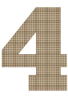 Números de Divertida Vaquita para Imprimir Gratis.