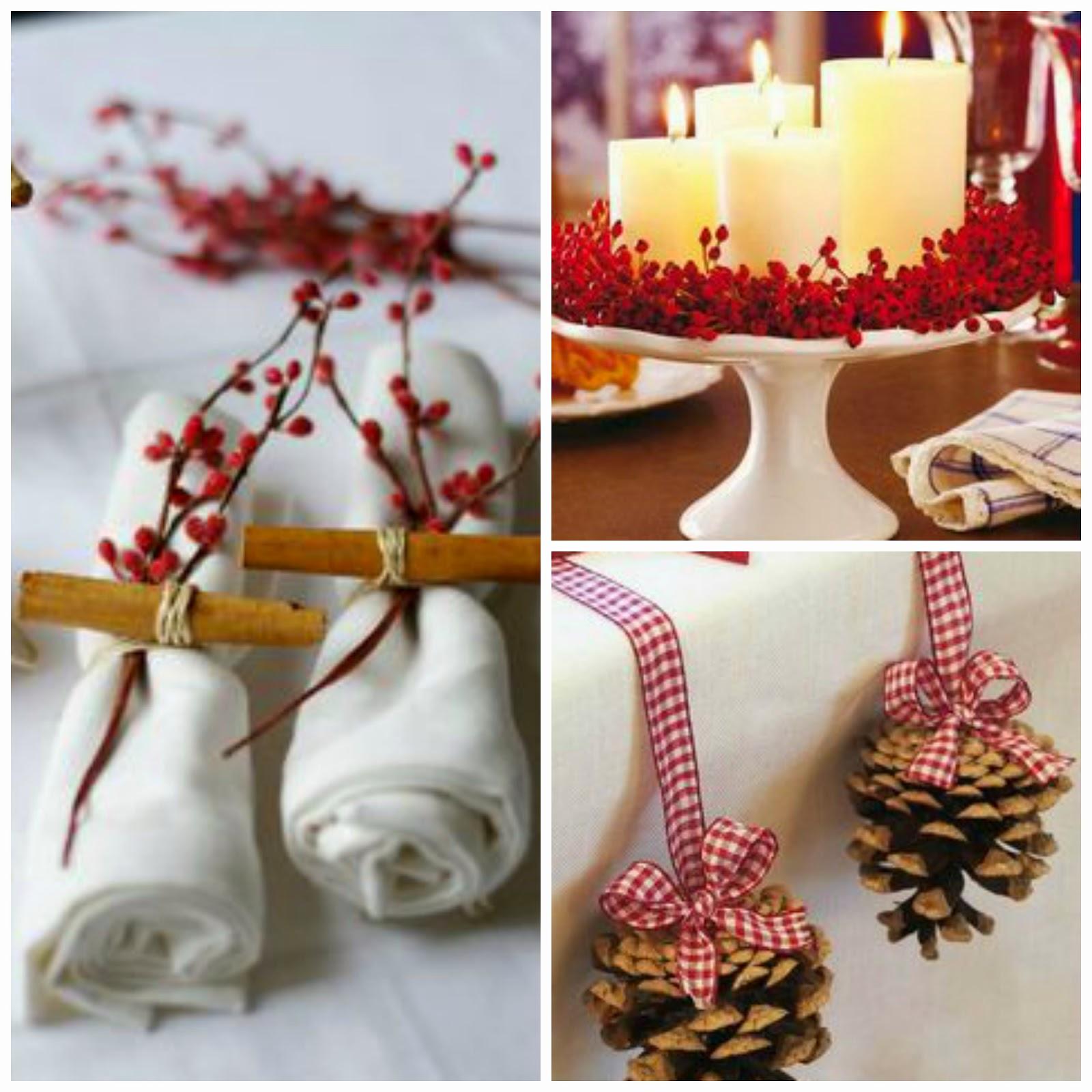 ideas decoración mesa fin de año