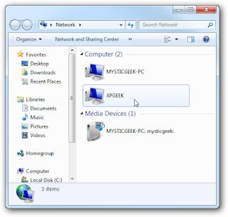 Share Folder Komputer
