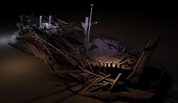 Des dizaines d'épaves découvertes au fond de la Mer Noire