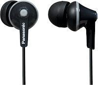 Panasonic RP-TCM125E-K In-Ear Headphone with Mic