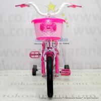 12 Inch Erminio 2209 Dolphins Kids Bike Purple