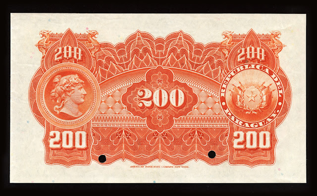 Billetes Paraguay doscientos Pesos