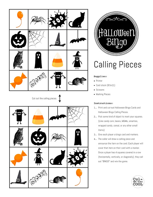 Blank halloween bingo cards templates for kindergarten,kids and students