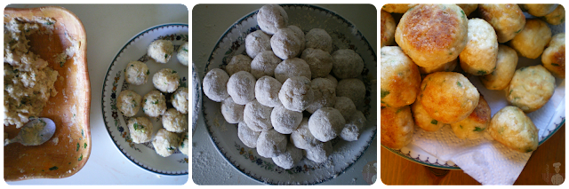 Albóndigas de pollo con salsa de coco al curry: Elaboración