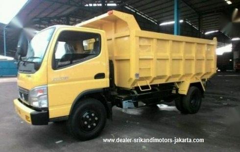 mitsubishi canter dump truck 2019, mobil baru colt diesel dump truck 2019