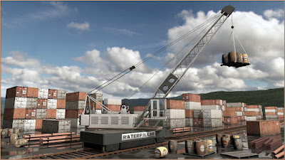 Warehouse District: Dock Crane