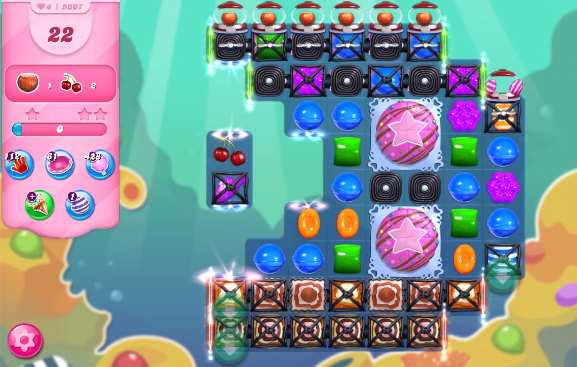 Candy Crush Saga level 5307
