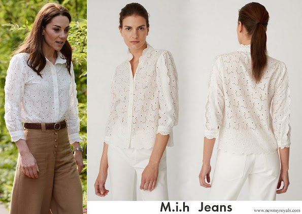 Kate Middleton wore M.i.h Jeans Mabel Shirt