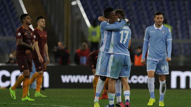 Lazio Tundukkan Roma 2-0