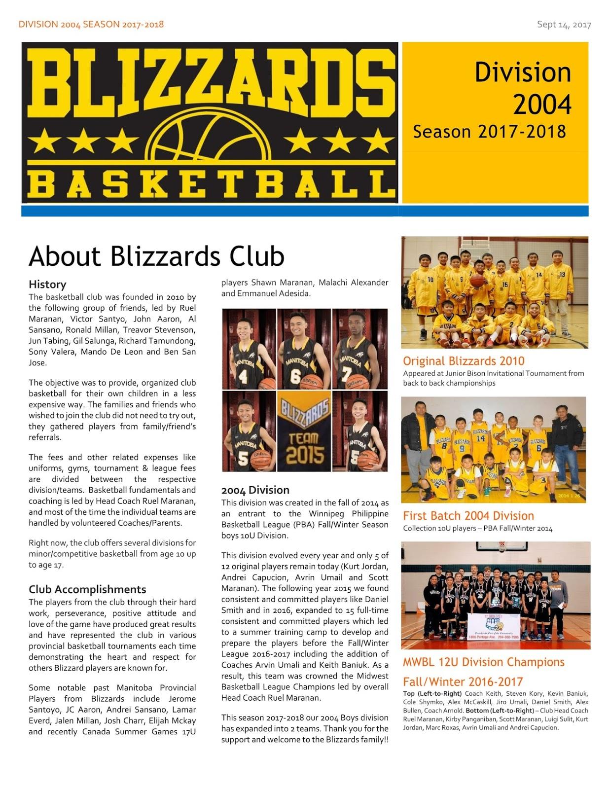 winnipeg blizzards basketball
