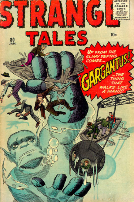 Strange Tales Jack Kirby
