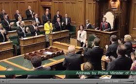 どこでもNZ: ジュリア・ギラード首相のスピーチ