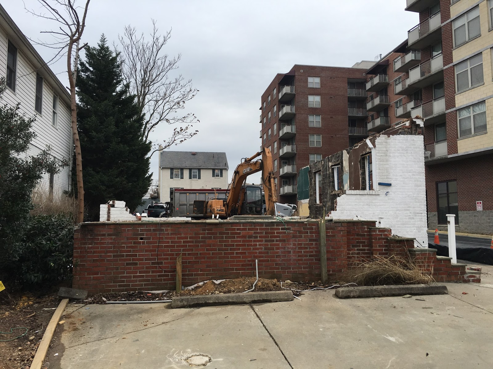 Demolition Of The Single Family Home Behind The Rosedale Park Apartments Is  Underway. A 1933 Home That Had Been Used As An Office Space, 4712 Rosedale  ...
