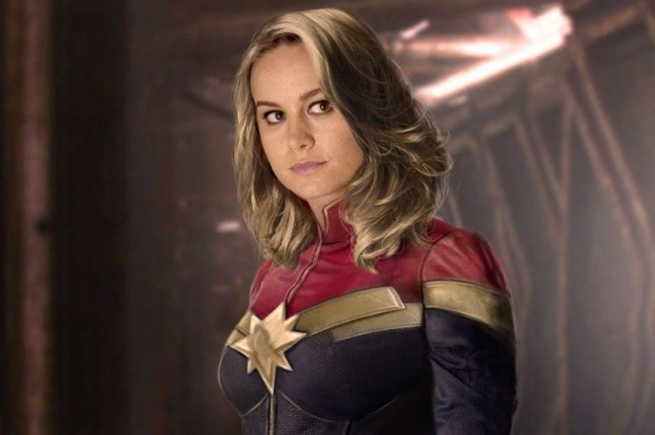 """Artes promocionais de """"Capitã Marvel"""" apresentam o visual de Carol Danvers"""