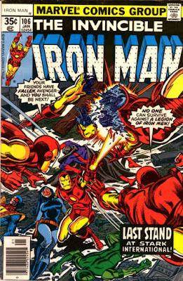 Iton Man #160, androids