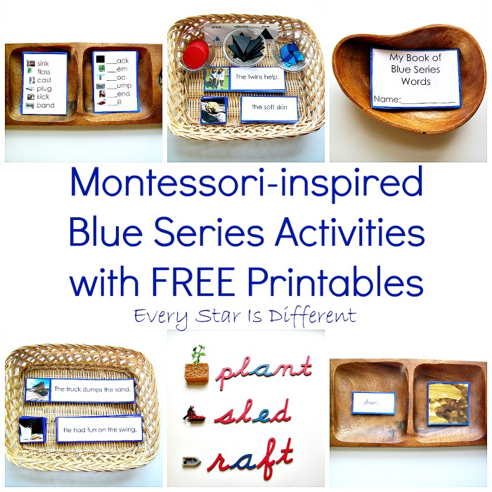 Blue Series Activities