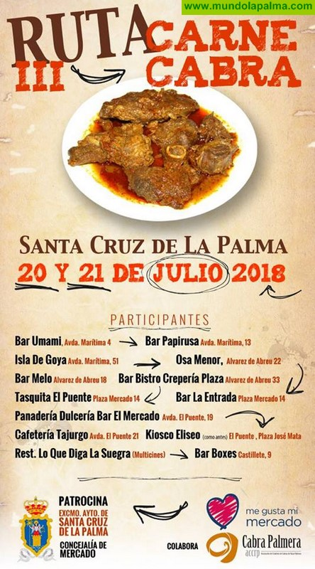 III Ruta Carne Cabra de Santa Cruz de La Palma