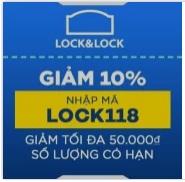 khuyến mãi tháng 2 lock&lock