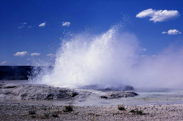 A Geyser Erupted in Yellowstone and 80 Years of Human Trash Poured Out