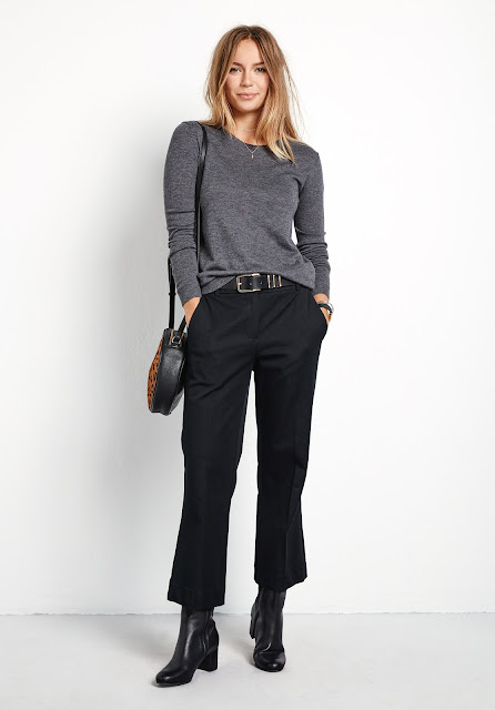 hush kick flare trousers