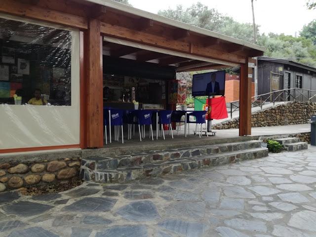 Bar da Praia Fluvial da Bogueira
