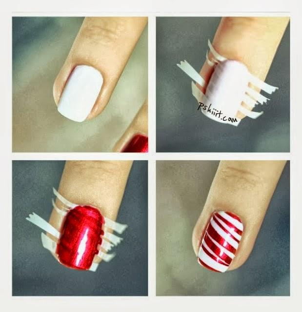 Diy Christmas Nail Art: Nail Art Ideas For Christmas