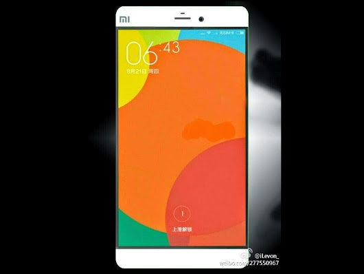 Xiaomi E5: its official presentation advanced to January ~ The New cellular Phones Coming out 2015