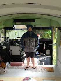 Just Right Bus Insulation And Dirty Paws