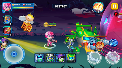 Super Heroes Junior v1.1 Mod Apk (Unlocked) Terbaru