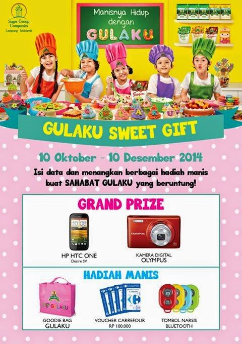 Kontes Gulaku Sweet Gift Berhadiah HTC Desire SV