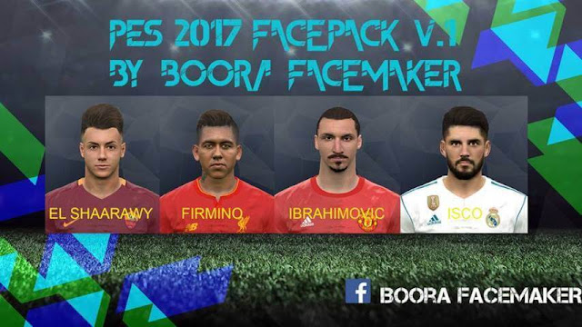 Facepack PES 2017