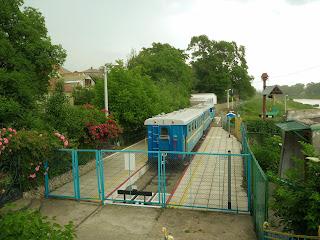 Ужгород. Дитяча залізниця