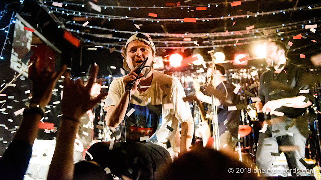 Hollerado at Lee's Palace on December 30, 2018 Photo by John Ordean at One In Ten Words oneintenwords.com toronto indie alternative live music blog concert photography pictures photos nikon d750 camera yyz photographer
