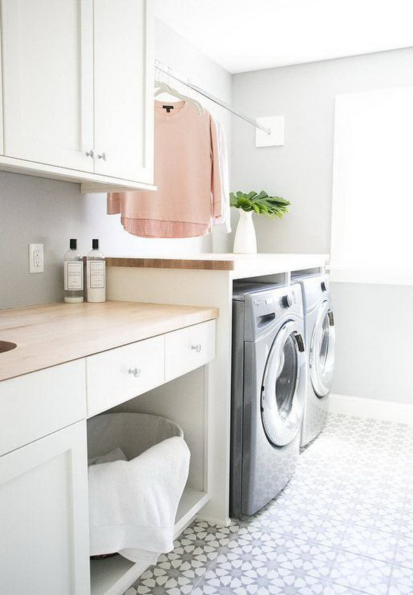 Creative Laundry Rooms Decor Ideas - Room Organization Ideas 6