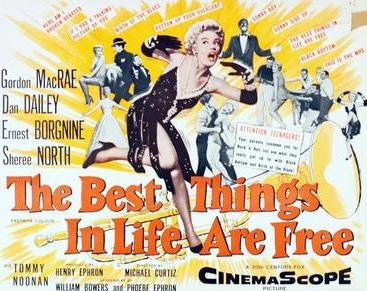 Another old movie blog the best things in life are free 1956 sheree north is a terrific dancer but her singing is dubbed by eileen wilson some of the dance numbers are quite daringly surrealistic and erotic fandeluxe Choice Image