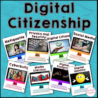 Digital Citizenship Bundle - Click to get it from Teachers Pay Teachers