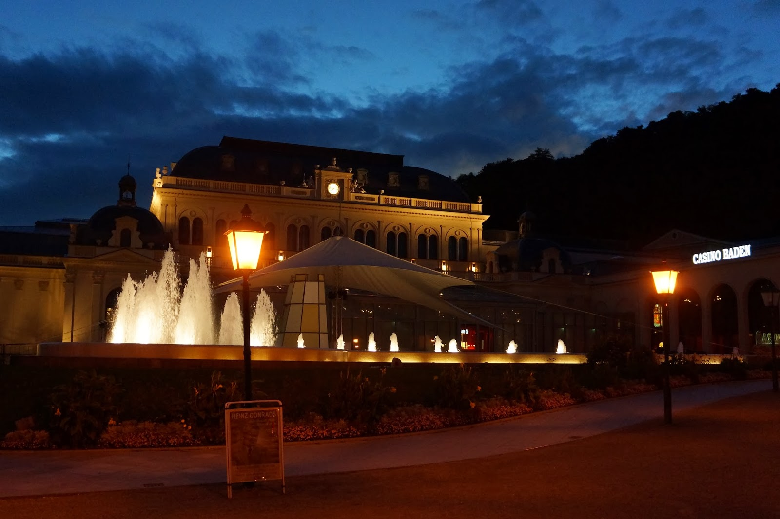 Bade Baden By Night