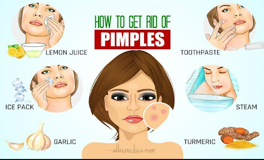 How to Get Rid of Pimples - Health ans Skin Tips