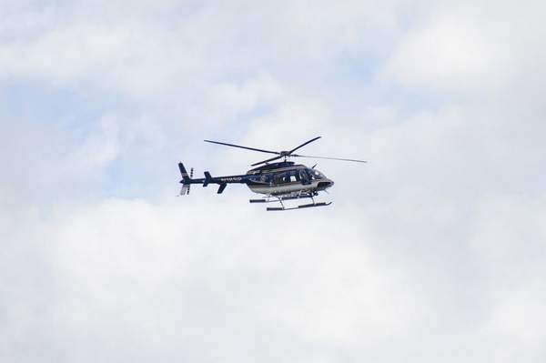 Kathryn's Report: New York State Police helicopter used in