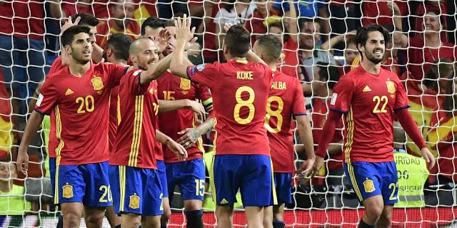 Spanyol Terancam Dicoret dari Piala Dunia 2018