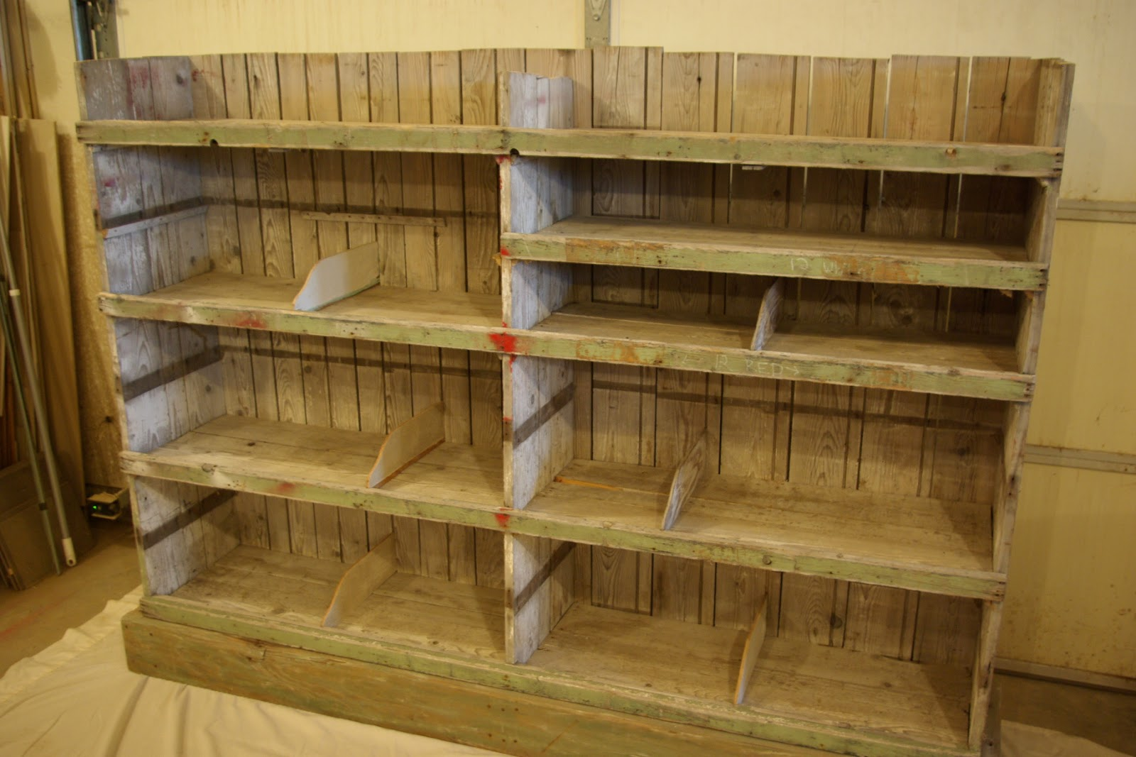 Timber Bookcase: Reclaimed Rustics: Rustic Barn Wood Bookcase