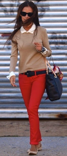 341a00adbc7 Business casual work outfit. Business casual work outfit. camel sweater ...
