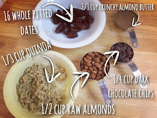 clean eating protein bars, quinoa protein bars, snacks, recipe, travel, ingredients