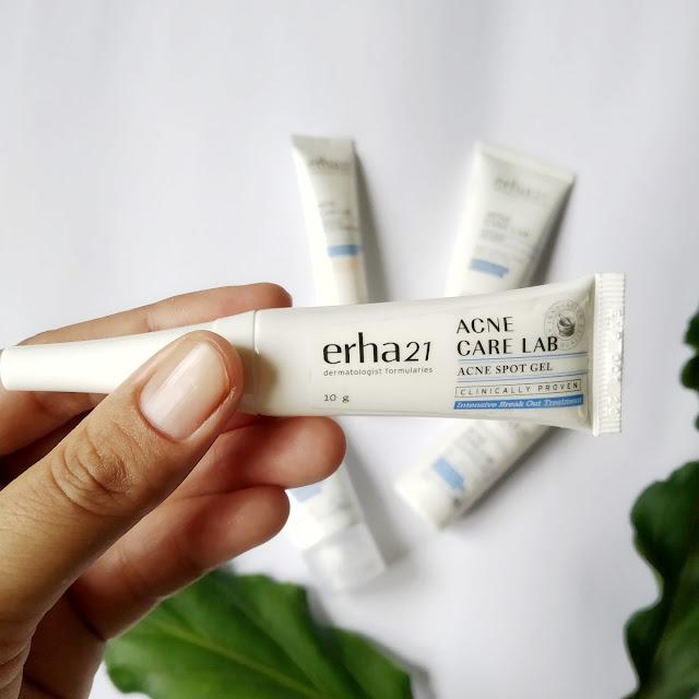 Review ERHA Acne Care Lab Series, Perawatan Untuk Kulit Berminyak dan Berjerawat