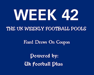Week 42 fixed banker draws on coupon powered by: ukfootballplus.com