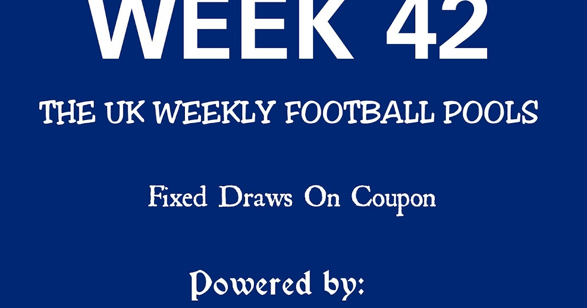 WEEK 42: UK FOOTBALL POOLS | 29-04-2017 | www ukfootballplus com